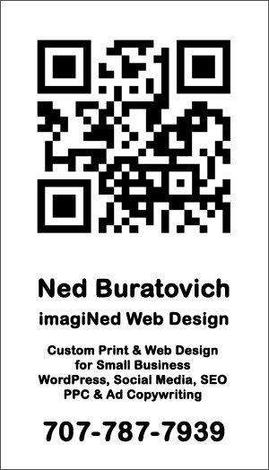 707-787-7939 Ned Buratovich at imagiNed Web Design