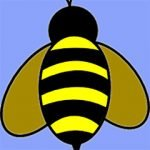 Site Favicon in form of honey bee