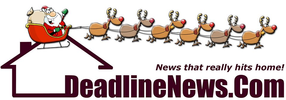DeadlineNews.com header graphic, decorated for holidays.