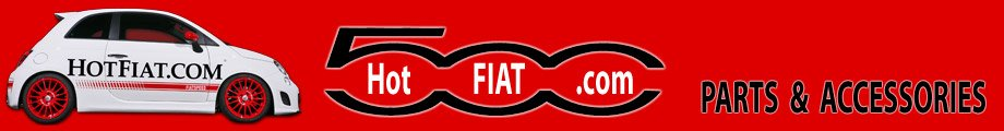 Header graphic for HotFiat.com Parts Store