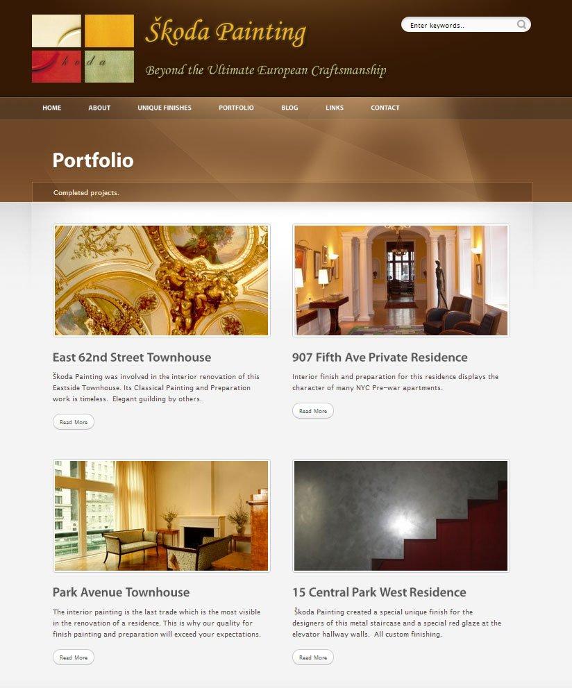 Skoda Painting - Portfolio-Page