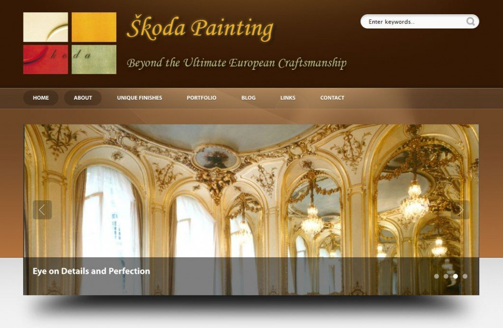 Home Page for Skoda Painting