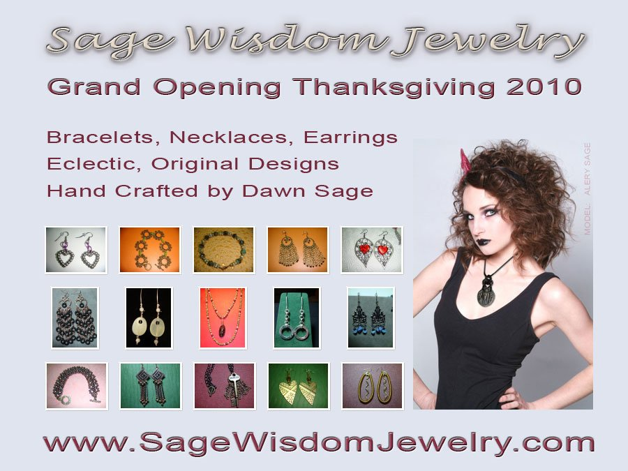 Jewelry Store - Postcard for Grand Opening