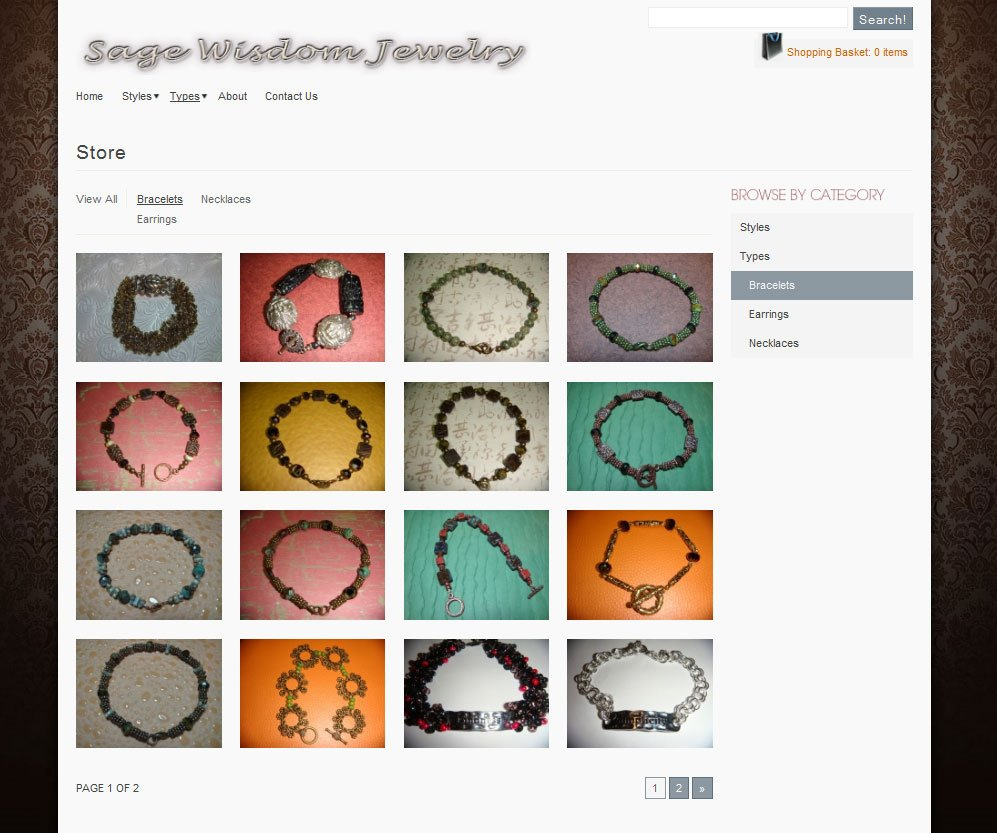 Bracelet - category index page