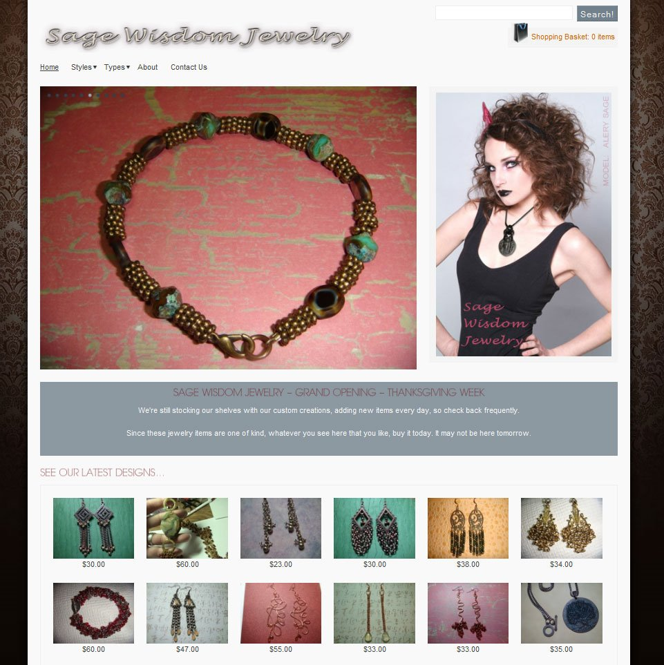 Jewelry Sales - Home Page