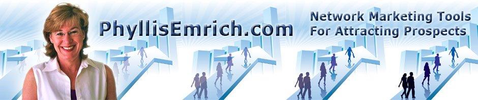 Website Header for Network Marketing Blog