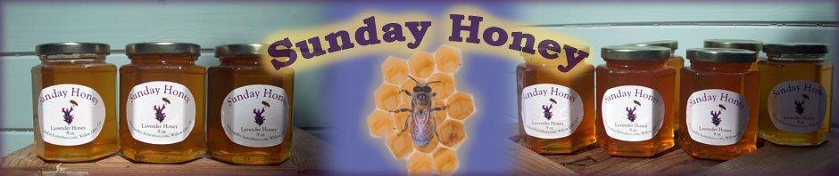 Sunday Honey - Honey sales header