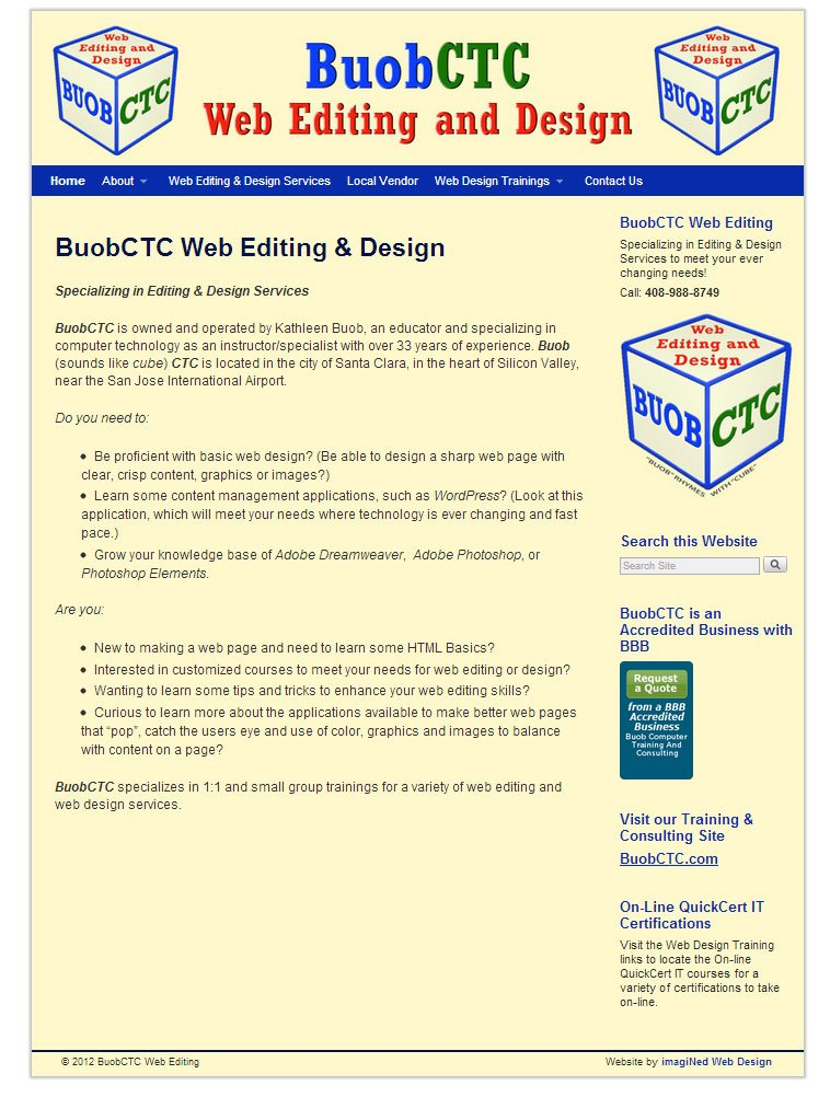 BuobCTC.net home page