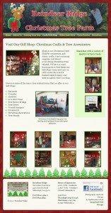 ReindeerRidge.com Gift Shop page