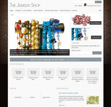 TheJewelryShop WordPress Theme