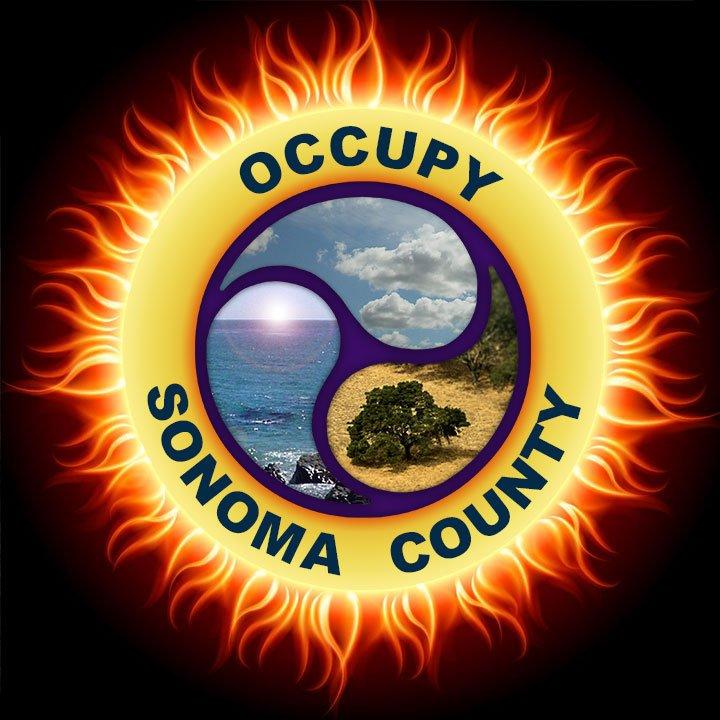OSC logo with sun corona effect on black background